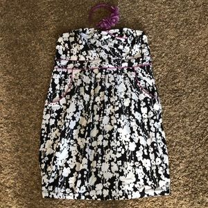 EUC Maurices Strapless Dress Size 18